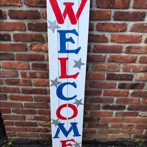 Other - Welcome sign front porch decor